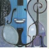 Cool Jazz II Tableau sur toile par Norman Wyatt Jr.