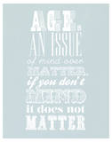 Age Is An Issue Of Mind Over Matter