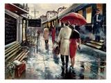 Station de métro Reproduction d'art par Brent Heighton