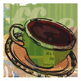 Etched Coffee Reproduction d'art par Walter Robertson