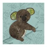 Bashful Bear Reproduction d'art par Morgan Yamada