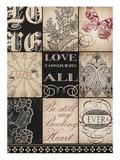 Vintage Love Reproduction d'art par Marco Fabiano