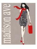 Fashion Type 1 Reproduction d'art par Marco Fabiano