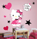 Hello Kitty - Couture Peel & Stick Giant Wall Decal