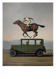 La Colere des Dieux Reproduction d'art par Rene Magritte