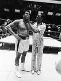 Muhammad Ali and Stevie Wonder  1975