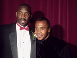 Doug Williams and Sugar Ray Leonard  1988