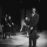 Nat King Cole on Set of His Television Show