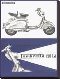 Lambretta 150 Ld Lambretta Tableau sur toile