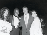 Sugar Ray Leonard and Bernadette Robi  Wedding Ceremony   August 1993
