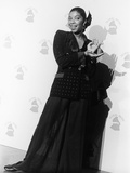 Natalie Cole Is Photographed  31st Annual Grammy Awards  February 22  1989