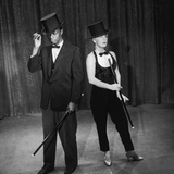 "Nat King Cole and His Guest Star Betty Hutton Perform a Dance Routine  ""Nat King Cole"" Show  1957"