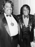 Rev Al Sharpton at James Brown  58th Birthday Celebration  1991