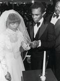 Sugar Ray Leonard and Longtime Sweetheart Juanita Wilkinson Wedding Ceremony  January 19  1980