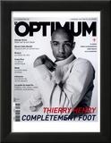 L'Optimum  June-July 2004 - Thierry Henry Porte un Blouson Nike