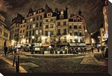 Paris Street Night