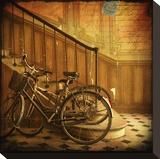 Bikes IV Tableau sur toile par Dawne Polis