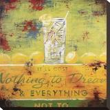 Nothing To Dream Tableau sur toile par Rodney White
