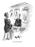 """Is Greece fluoridated"" - New Yorker Cartoon"