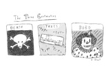The Three Certainties - New Yorker Cartoon