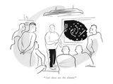 """""""And these are the alumni"""" - New Yorker Cartoon"""