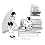 """Oh  come on—it's 8 am somewhere""  - New Yorker Cartoon"