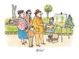 Artist' - New Yorker Cartoon