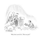 """""""Wait  those weren't lies  That was spin!"""" - New Yorker Cartoon"""