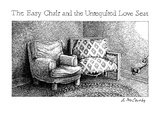 The Easy Chair And The Unrequited Love Seat - New Yorker Cartoon