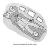 """""""We'll soon have you sorted out  Mr Fenton"""" - New Yorker Cartoon"""
