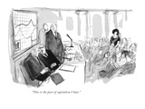 """""""This is the part of capitalism I hate"""" - New Yorker Cartoon"""
