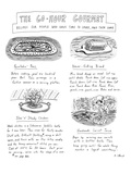 """""""Painstakin' Peas""""-The 60 Hour Gourmet Recipe- For People Who Have Time To… - New Yorker Cartoon"""
