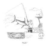 """""""Touché"""" - New Yorker Cartoon"""