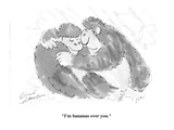 """I'm bananas over you"" - Cartoon"