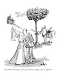 """""""I dreamed about you for years  but somehow I thought you'd be different!"""" - New Yorker Cartoon"""
