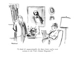 """I think it's unquestionably the finest letter you've ever written to the …"" - New Yorker Cartoon"