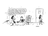 "In which room would I find the course called  ""How to Say 'Sit Down and Sh… - Cartoon"
