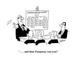 """    and that  Furguson  was you!"" - Cartoon"