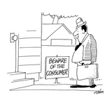 Beware Of The Consumer - Cartoon