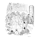 """Later!"" - New Yorker Cartoon"