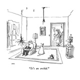 """It's an orchid"" - New Yorker Cartoon"