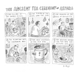 'Ancient Tea Ceremony of Astoria' - New Yorker Cartoon