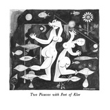 Two Picassos with Feet of Klee - New Yorker Cartoon