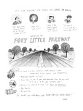 It's The Highway For People Who Hate To Drive Introducing The Poky Little … - New Yorker Cartoon