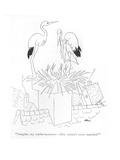 """""""Imagine my embarrassment—they weren't even married!"""" - New Yorker Cartoon"""