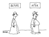 Before and After: - New Yorker Cartoon