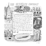 The Ultimate Contract - New Yorker Cartoon