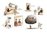 AFTER MAGRITTE - New Yorker Cartoon