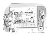 Give The Gift of Alcohol - New Yorker Cartoon