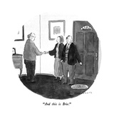 """And this is Brie"" - New Yorker Cartoon"